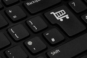 מקלדת, קניות באינטרנט, עגלת קניות