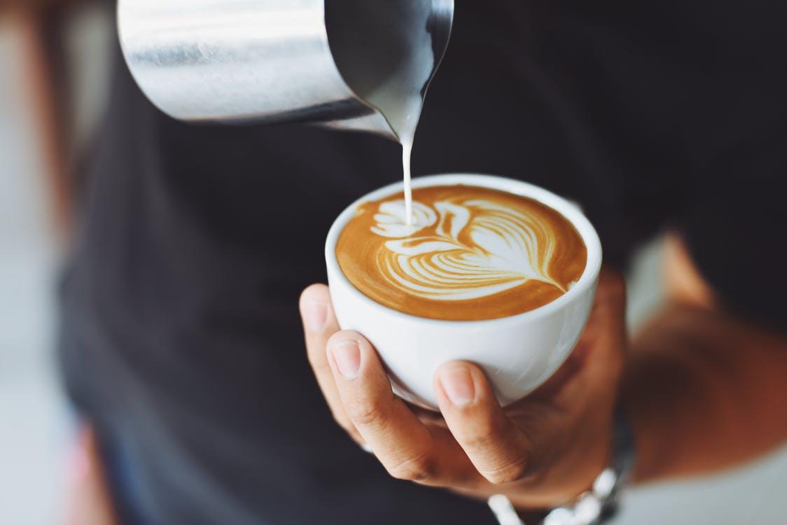 ציור בקפה
